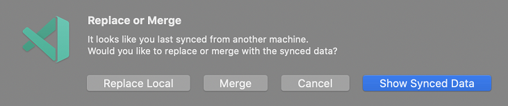 Replace or Merge pop-up