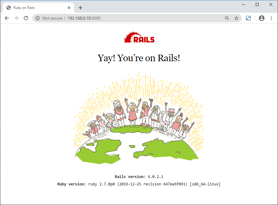 Ruby On Rails On CentOS 8