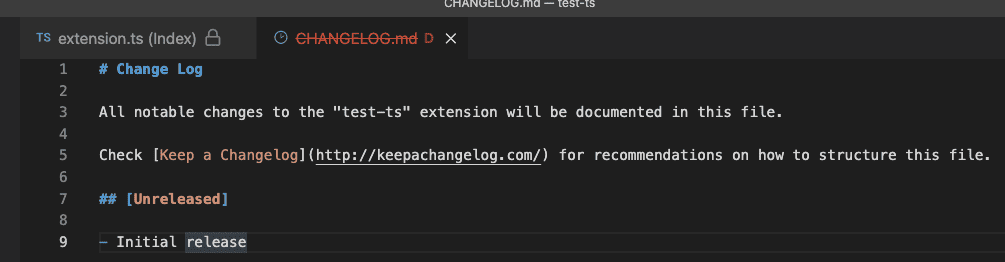 Editor readonly and deleted decorations